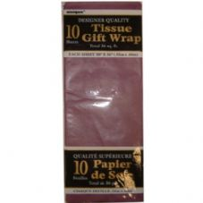 Purple Tissue Paper 10 Sheet Pack